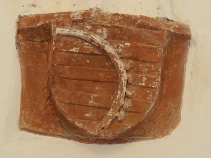 Konsole IIb (Südflügel) mit sächsischem Wappen