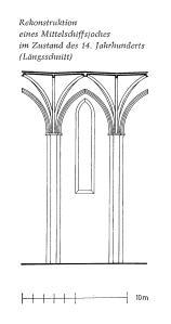 stiftskirche aufriß 14 jh badstübner