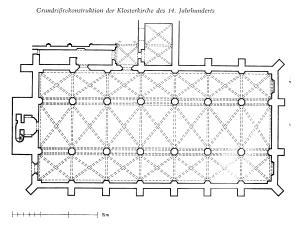 stiftskirche grundriß 14 jh badstübner