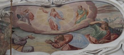 Verklärung Jesu (südliches Seitenschiff erstes Joch)