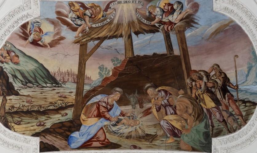 Geburt Jesu (Mittelschiff zweites Joch)