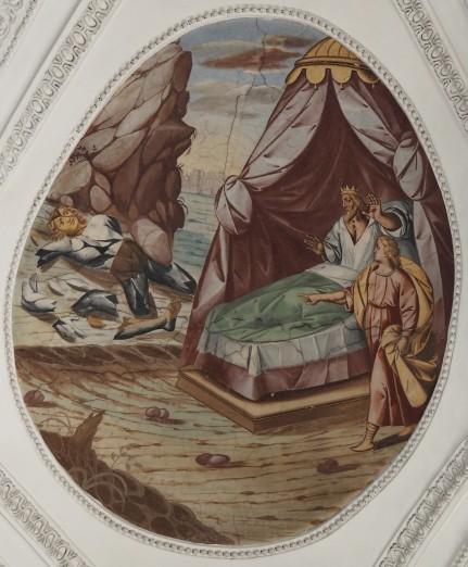 Nebukadnezars Traum (südliches Seitenschiff zweites Joch)