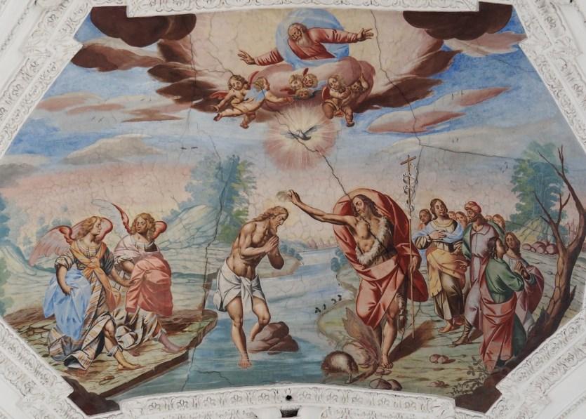 Taufe Jesu (Mittelschiff drittes Joch)