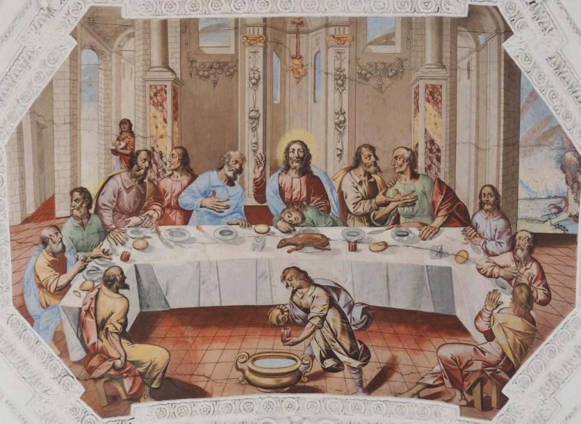 Abendmahl (Mittelschiff viertes Joch)