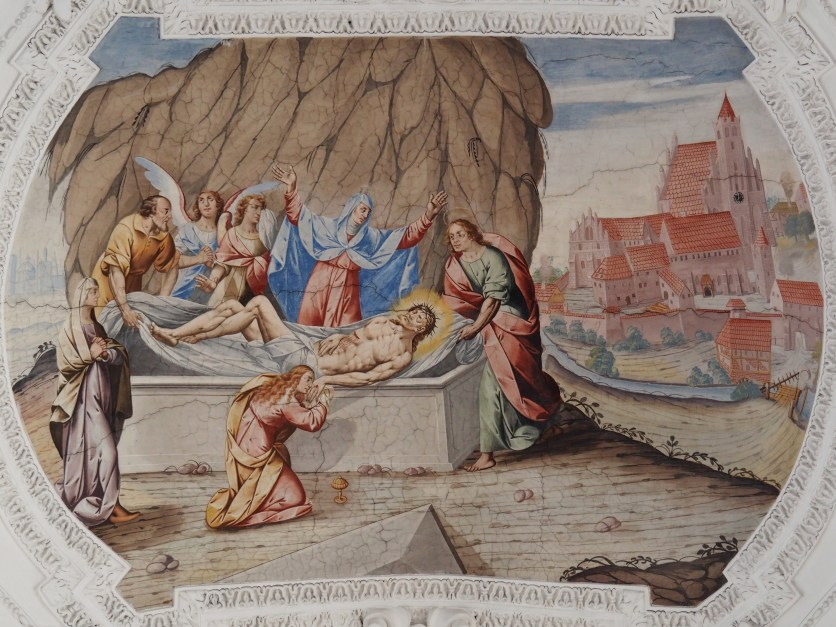 Grablegung Jesu (Mittelschiff sechstes Joch)