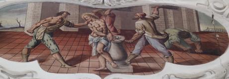Geißelung Jesu (südliches Seitenschiff siebtes Joch)