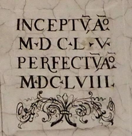 begonnen 1655 beendet 1658 (Auferstehungsfresko)