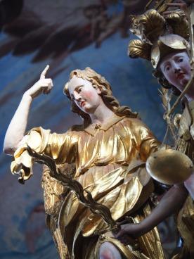 Tauf-Altar: Erzengel Gabriel