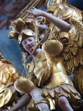 Tauf-Altar: Erzengel Michael
