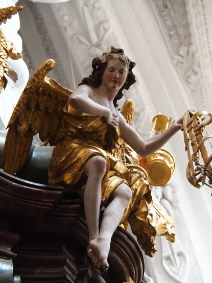 Tauf-Altar: Erzengel Uriel