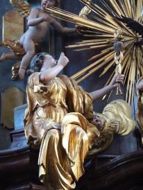Tauf-Altar: Liebe
