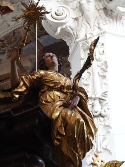 Tauf-Altar: Gerechtigkeit