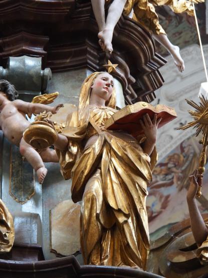 Tauf-Altar: Mäßigkeit