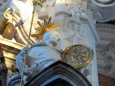 Benediktus-Altar, Robert von Molesme