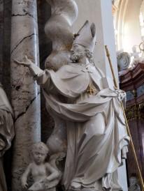 Benediktus-Altar, Heiliger Benno