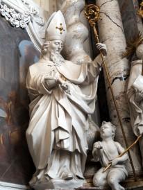 Benediktus-Altar, Heiliger Martin