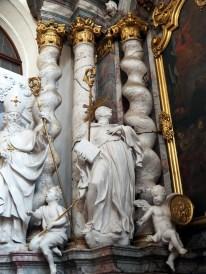 Benediktus-Altar, Heiliger Maurus