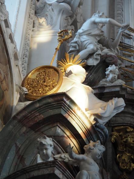 Benediktus-Altar, Odilio von Cluny