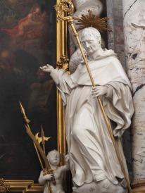 Benediktus-Altar, Heiliger Plazidus