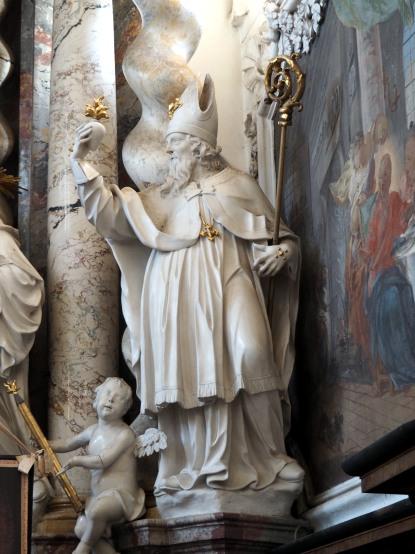 Bernardus-Altar, Heiliger Augustinus