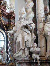 Bernardus-Altar, Heiliger Dionysius