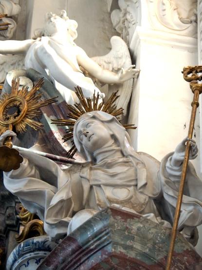 Bernardus-Altar, Heilige Juliana