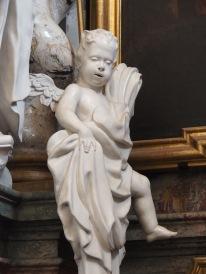 Bernardus-Altar, Putto bei Stephan Harding