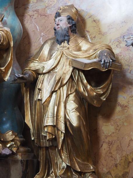 Kreuzaltar, Benedikt von Nursia