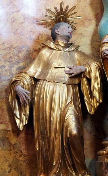 Kreuzaltar, Bernhard von Clairveaux