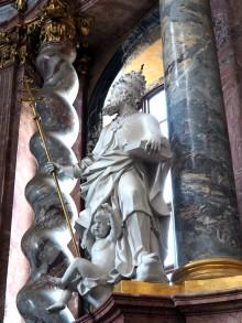 Hochaltar: Papst Gregor