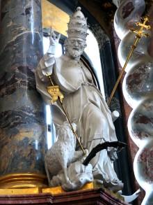 Hochaltar: Papst Clemens I