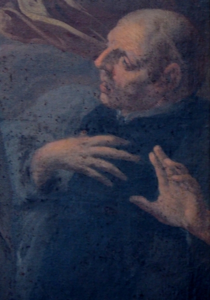 Bernardus-Altar, Detail Tafelbild
