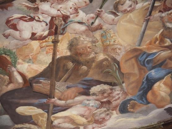 Kuppelfresko, Jakobus der Ältere