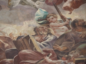 Kuppelfresko, Judas Thaddäus