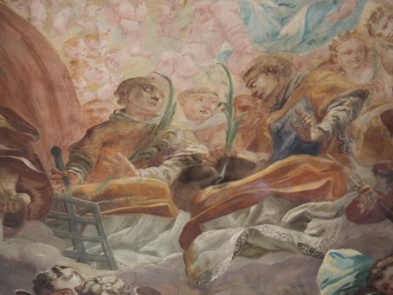 Kuppelfrsko, Laurentius und Stephanus