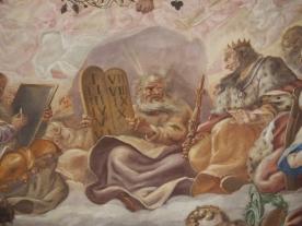 Kuppelfresko, Moses
