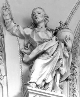 Stiftskirche, Apostelkollegium: Jesus, um 1740