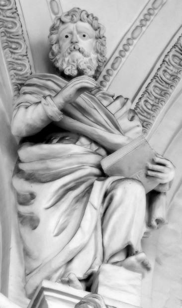 Stiftskirche, Apostelkollegium: Matthäus Evangelist