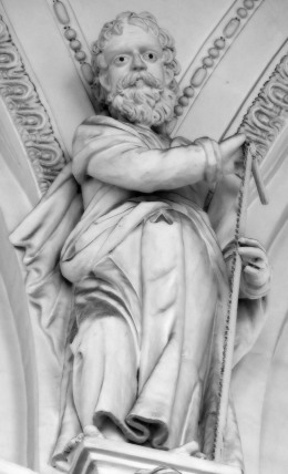 Stiftskirche, Apostelkollegium: Simon Zelotes