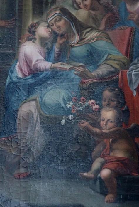 Stiftskirche, Anna-Altar: Tafelbild