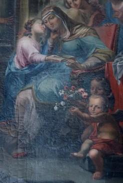 Stiftskirche, Anna-Altar: Anna mit Maria