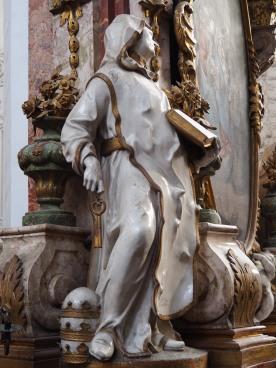 Stiftskirche, Antonius-Altar: Coelestin