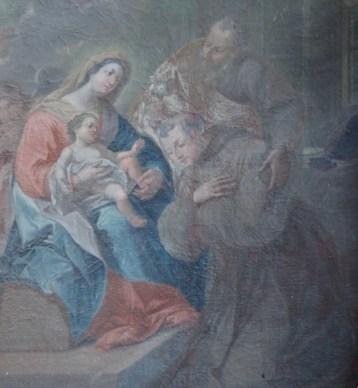 Stiftskirche, Antonius-Altar: Tafelbild