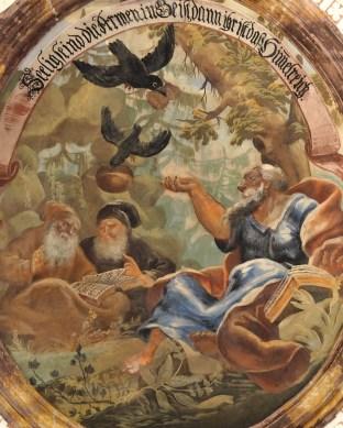 Kreuzkirche, Seligpreisungen: Elias