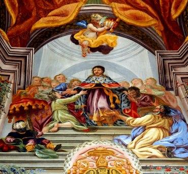 Josephskapelle, AT-Joseph als Statthalter