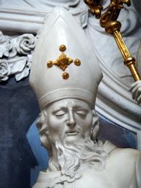 Stiftskirche, Benediktus-Altar: Martin von Tours