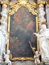 Stiftskirche, Benedikt-Altar: Tafelbild