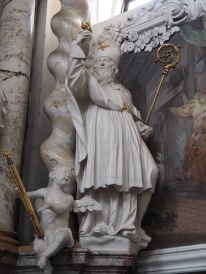 Stiftskirche, Bernardus-Altar: Augustinus