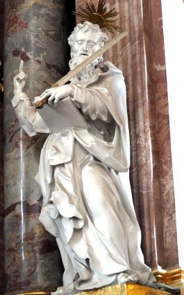 Stiftskirche, Hochaltar: Paulus