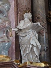 Stiftskirche, Hochaltar: Petrus